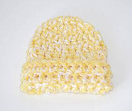 Čiapky - Detská háčkovaná čiapočka - 7095279_
