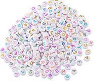 Korálky - Plastové korálky písmenká (balíček 500ks) - 7091611_