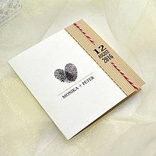 Papiernictvo - Svadobné oznámenie - 7094970_