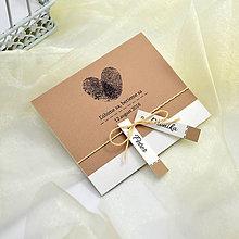 Papiernictvo - Svadobné oznámenie - 7095006_