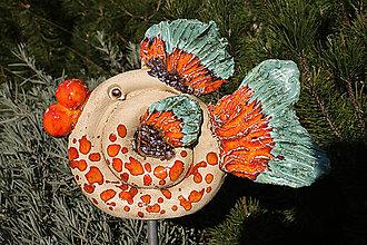 Dekorácie - Veselá rybka - 7095633_