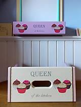 Tabuľky - Tabuľa magnetická - Queen of the kitchen ZĽAVA - 7095745_