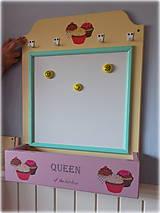 Tabuľky - Tabuľa magnetická - Queen of the kitchen ZĽAVA - 7095752_
