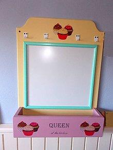 Tabuľky - Tabuľa magnetická - Queen of the kitchen SKLADOM - výpredaj - 7095741_
