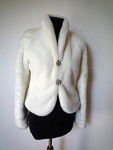 Kabáty - huňatý kožuštek - 7098616_