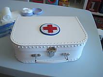 Hračky - Doktorsky kufrik pre deti - stredny - 7097264_