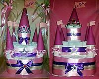 """Detské doplnky - Plienková torta """"Princess"""" - 7097079_"""