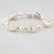 Náramky - Náramok Diamond Bridal midi - 7095413_