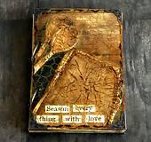 Papiernictvo - Receptár - Kuchárska kniha - Vintage Babkina kuchyňa 2-Posledný kus - 7097838_