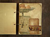 Papiernictvo - Receptár - Kuchárska kniha - Vintage Babkina kuchyňa 2-Posledný kus - 7097860_