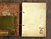Papiernictvo - Receptár - Kuchárska kniha - Vintage Babkina kuchyňa 2-Posledný kus - 7098072_