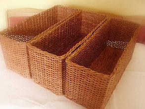 Košíky - Košík odkladáčik (č.3) - 7096864_