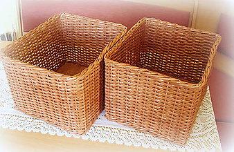 Košíky - Košík odkladáčik - 7096906_