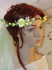 Ozdoby do vlasov - venček lesnej víly, typ 10. - 7100708_