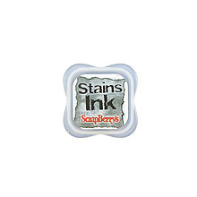 Farby-laky - Poduška ScrapBerry´s Stains Ink Pad Black - 7099826_