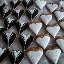 Darčeky pre svadobčanov - Medovníčky