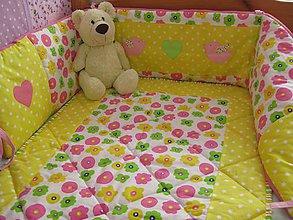 Textil - farebné kvetinky :-) - 7100064_