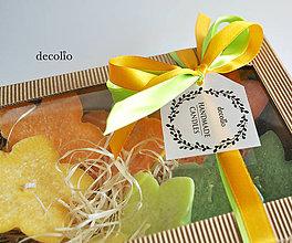 Svietidlá a sviečky - Citrusy - plávajúce sviečky v darčekovom balení - 7102621_