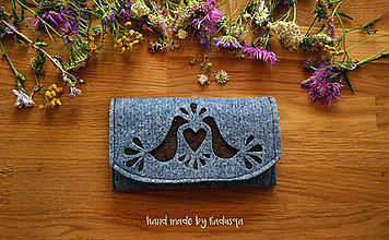 Peňaženky - Ľudová peňaženka 5 - 7102256_