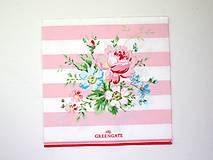 Papier - Servítka G45- Marie Pale Pink - 7101842_