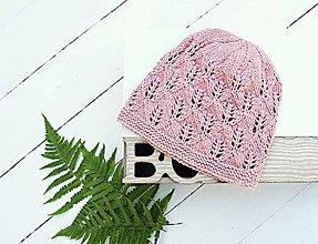 Detské čiapky - Pletená detská čiapka - 7102010_