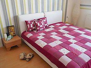 Úžitkový textil - prehoz na manželskú  posteľ  rozmer  200 x 200 cm - 7105956_