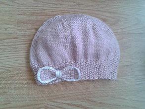 Detské čiapky - čiapočka - staroružovienka - 7104206_