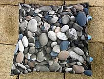 Iné - obliečka na vankúš - stones - 7104355_