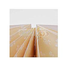 Polotovary - Album Ruža 17x22,5 cm, s potlačenými stranami, 20 listov - 7104138_