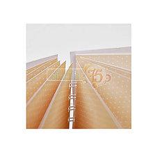Polotovary - Album Bodka 17x22,5 cm, s potlačenými stranami, 20 listov - 7104158_