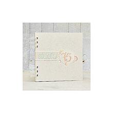 Polotovary - Cardstock album 20x20cm biely, 20 listov - 7104234_