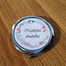 Darčeky pre svadobčanov - Zrkadielko WEDDING - 7104248_