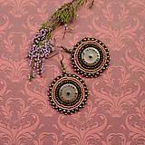 - Pottery earrings n.15 - vyšívané náušnice  - 7105303_
