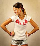 Tričká - Tričko s krátkym rukávom - Red Folk (M) - 7103867_