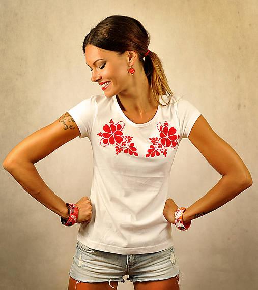 Tričko s krátkym rukávom - Red Folk
