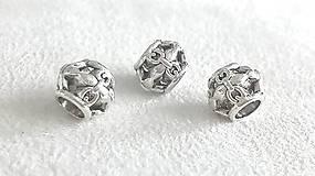 Korálky - PANDORA korálka - kovová - 7107054_