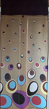 Úžitkový textil - Záves retro bubliny - 7109489_