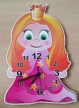 Detské doplnky - detské nástenné hodiny- vektorová grafika - 7107357_