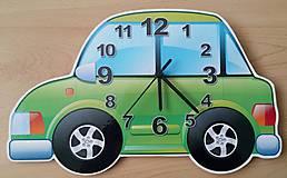 Hodiny - detské nástenné hodiny- vektorová grafika - 7107374_
