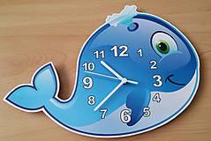 Hodiny - detské nástenné hodiny- vektorová grafika - 7107388_