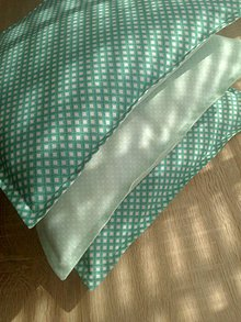 Úžitkový textil - Maličké vankúšiky*mentolka - 7108643_