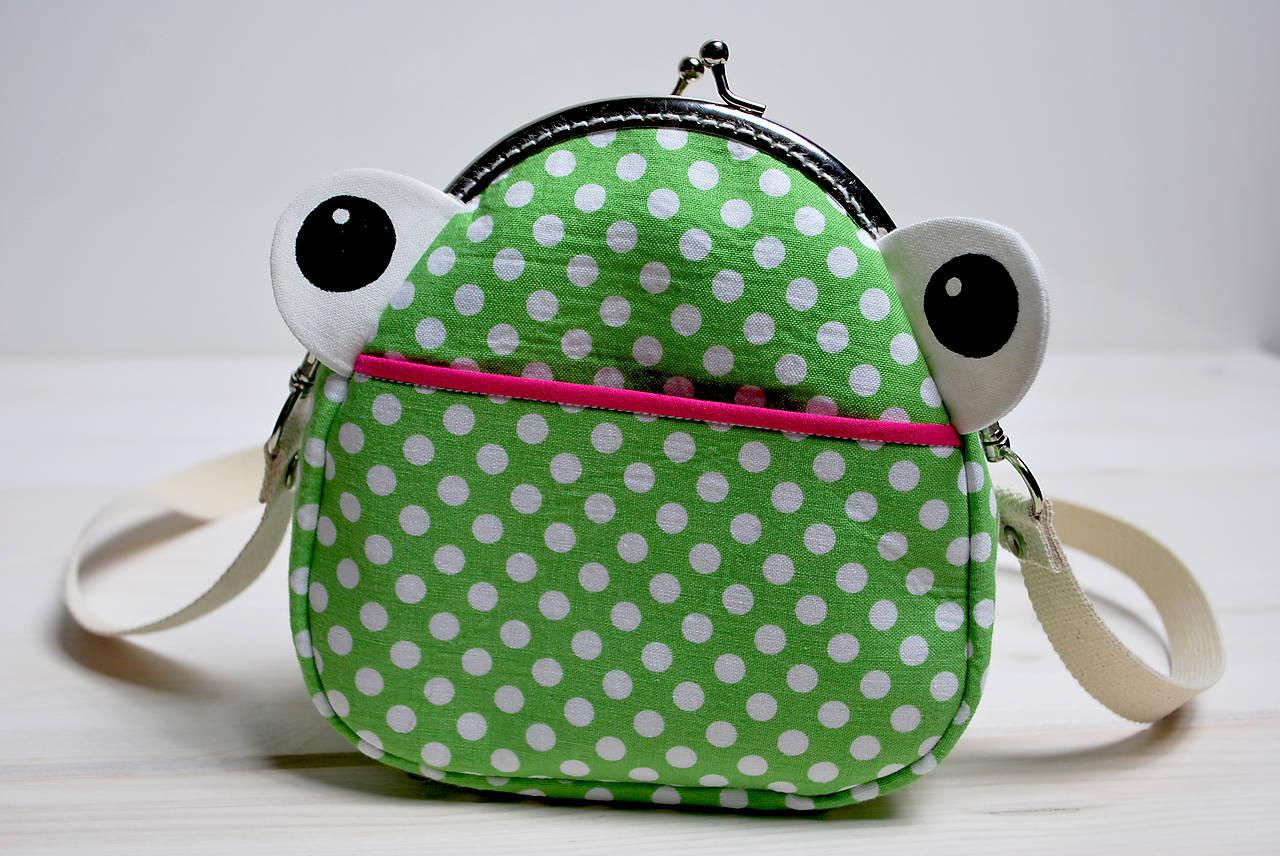 b0db968b50 Kabelka žabková   superdadka - SAShE.sk - Handmade Detské tašky