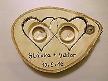 Prstene - vintage svadba/vankúšik pod svadobné prstene VI - 7107041_