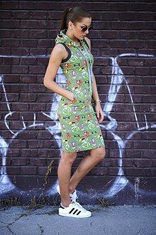 Šaty - FUNNY SPORTY DRESS - 7109702_