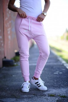 Nohavice - BABY PINK TRACKSUIT - 7109834_