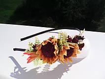 """Ozdoby do vlasov - Kvetinová čelenka do vlasov """"...mám slniečka vo vlasoch..."""" - 7106976_"""