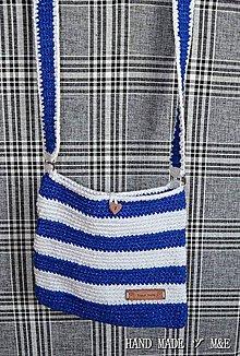 Kabelky - kabelka taška v námorníckom štýle - 7108426_