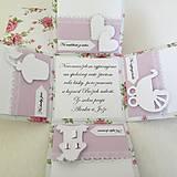 Krabičky - Krabička na peniaze pre novomanželov - 7109796_