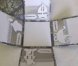 Krabičky - Krabička na peniaze pre novomanželov - 7109657_