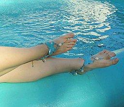 Iné šperky - Tyrkysový motýľ - 7106489_